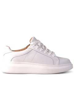 Wesley Leather Sneaker WHITE 1