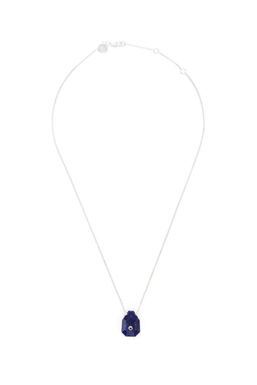 Earth - Sodalite Fine Silver Necklace