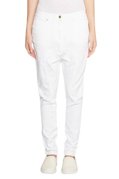 'Harper' Drop Crotch Jean WHITE 1