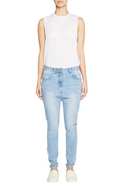 Harper Drop Crotch Jean BRIGHT BLUE 1
