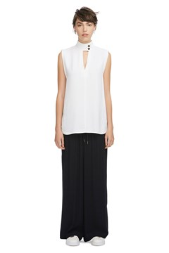 Mayfield Sleeveless Top SOFT WHITE 1