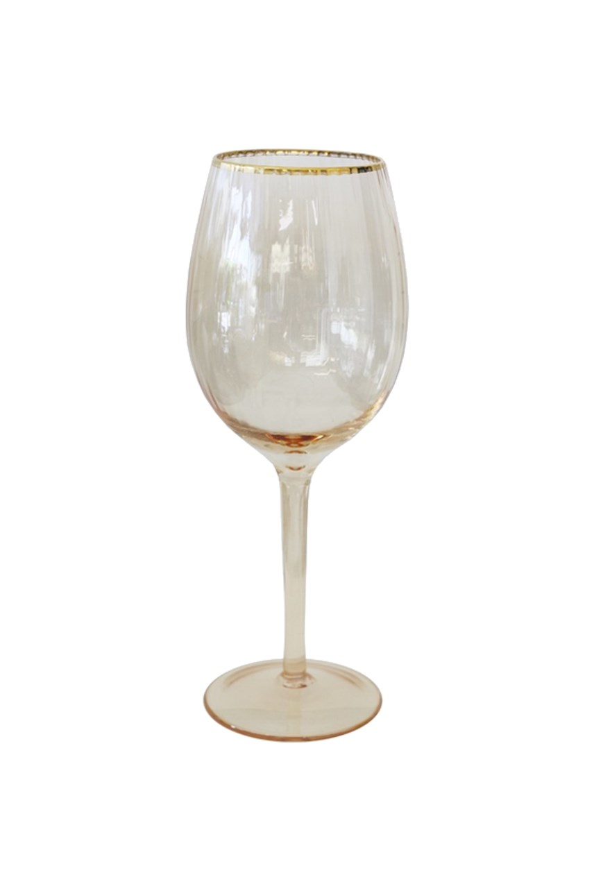 Gold Dust Wine Glass Set of 4