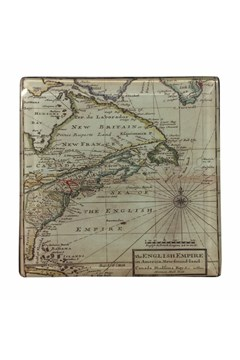 Map Coasters Set 1