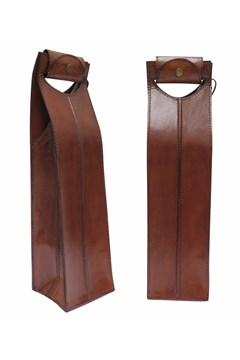Leather Wine Bottle Holder 1