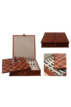 Leather Chess Set 1