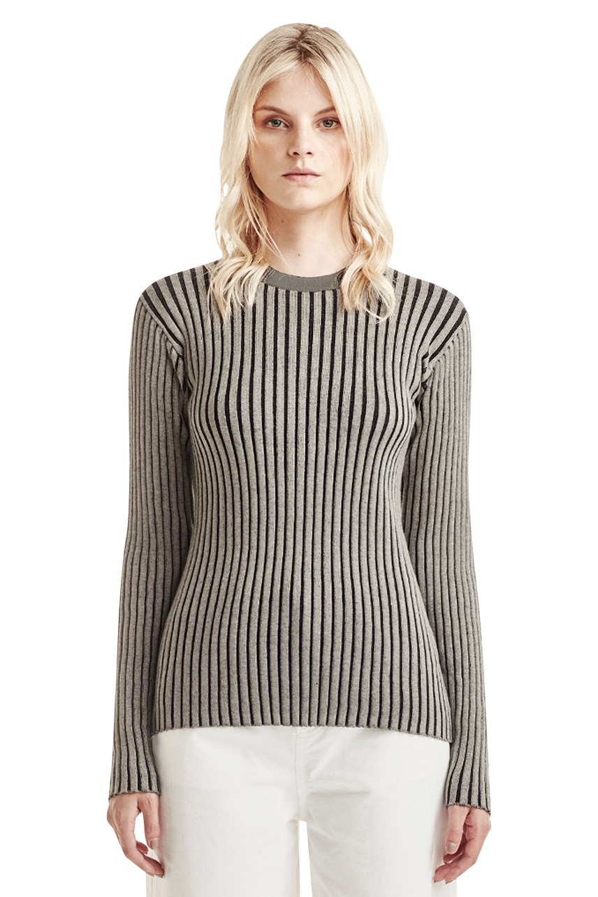 Ribbed Longsleeve Top