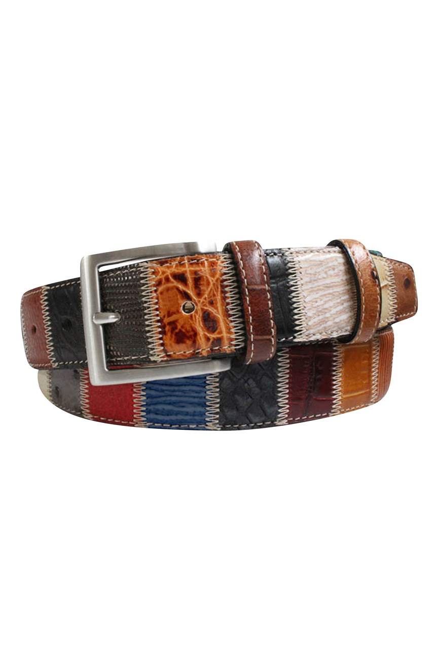 Patchwork Belt - 35mm