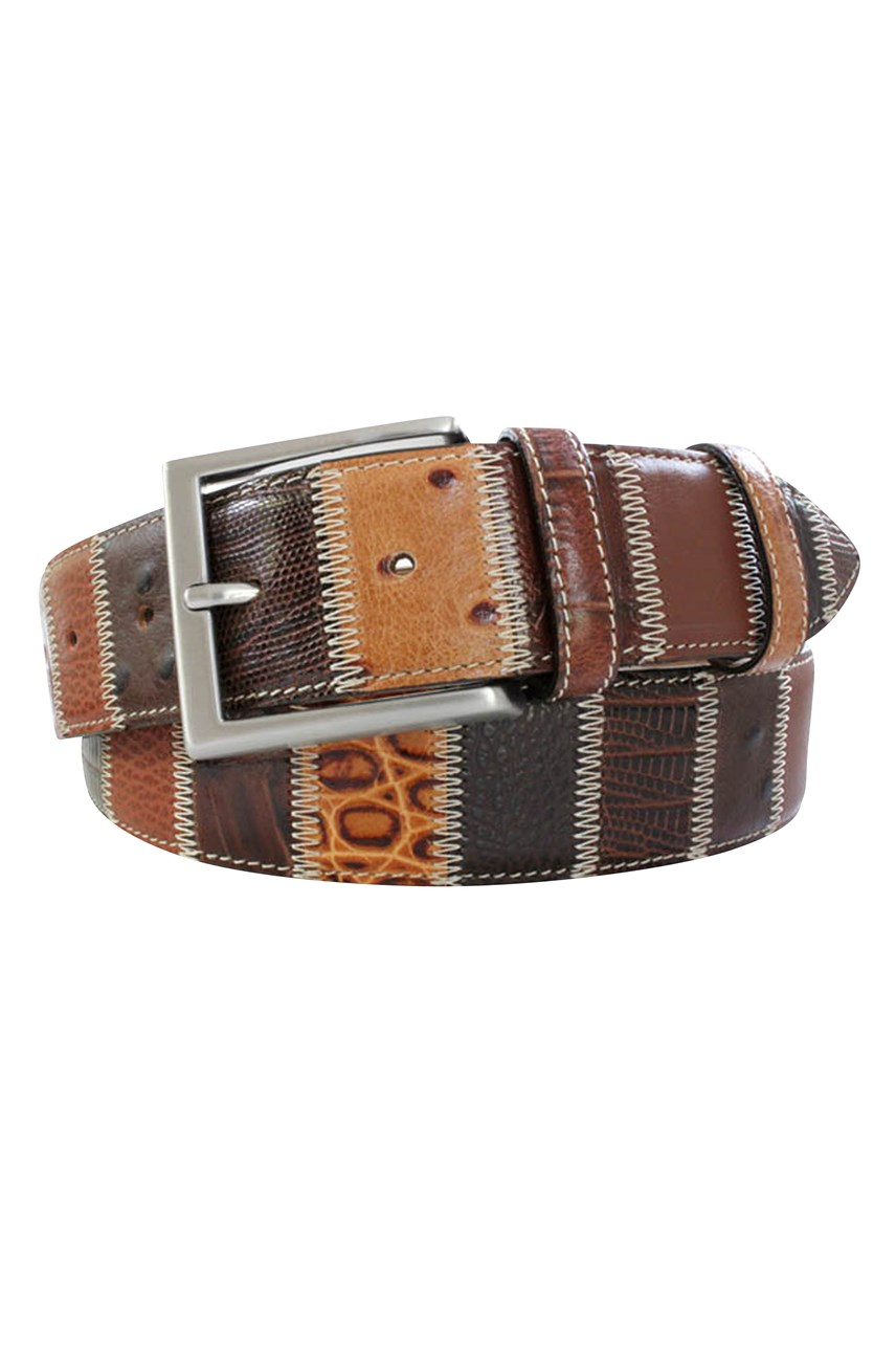 Patchwork Belt - 40mm