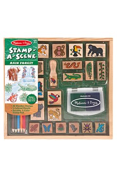 'Stamp-A-Scene' Rain Forest Stamp Set 1