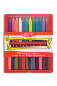 24 Triangular Crayon Set 1