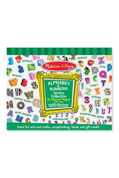 Alphabet & Numbers Sticker Collection 1