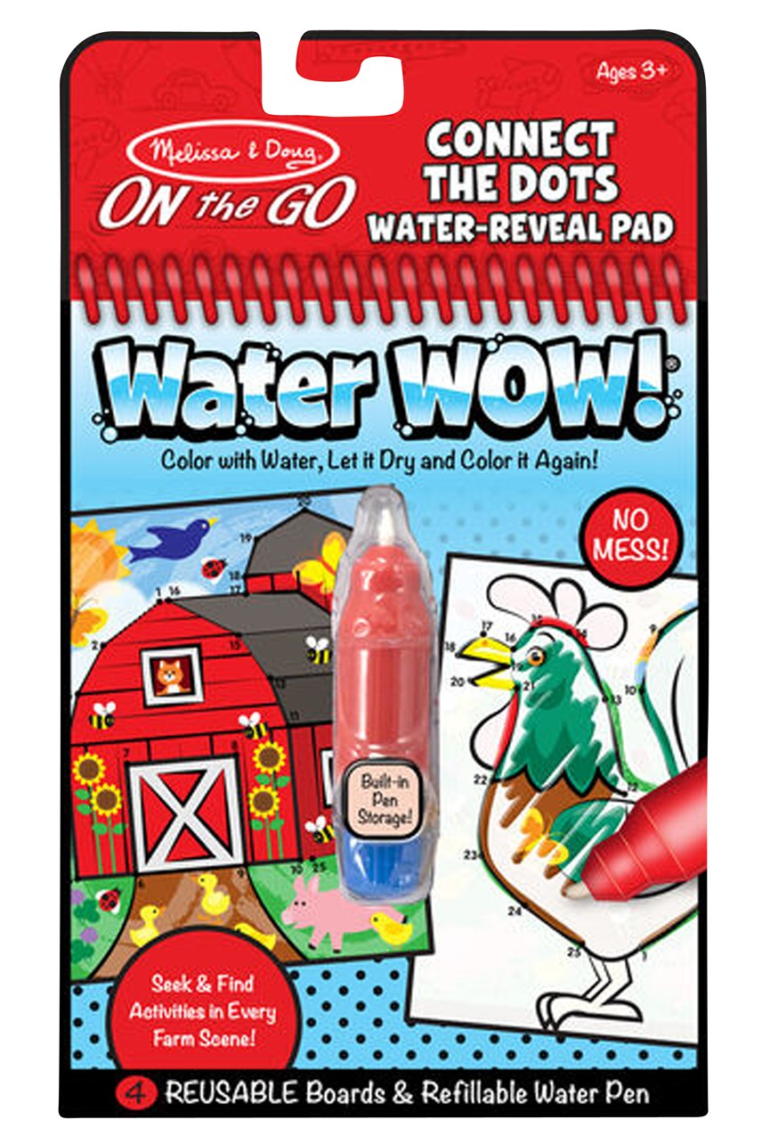 Water Wow! Connect The Dots Water-Reveal Pad