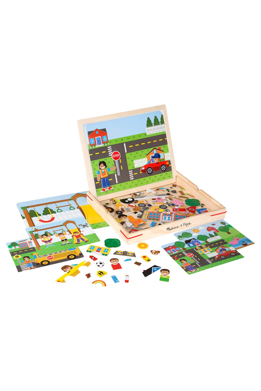 Magnetic Matching Wooden Picture Game