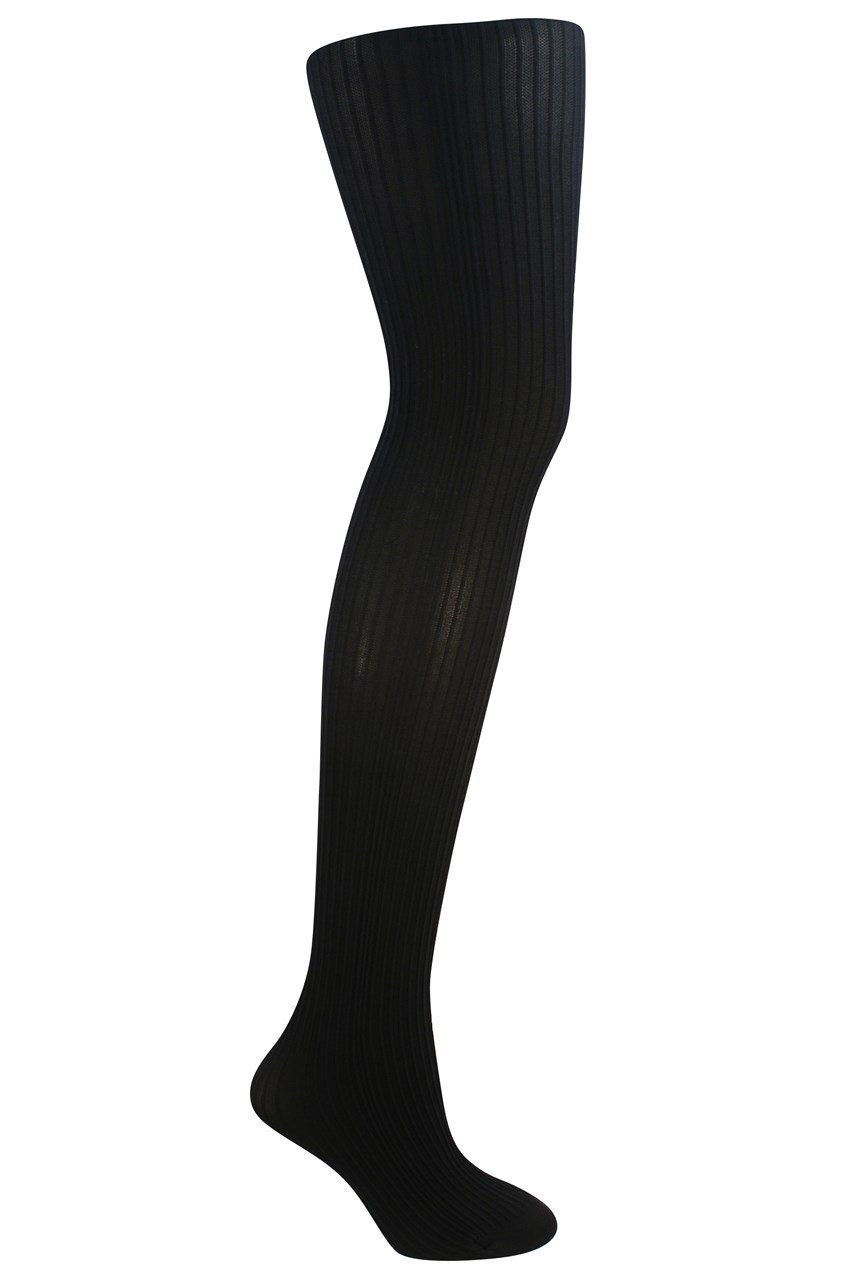 Variable Lines Opaque Tights