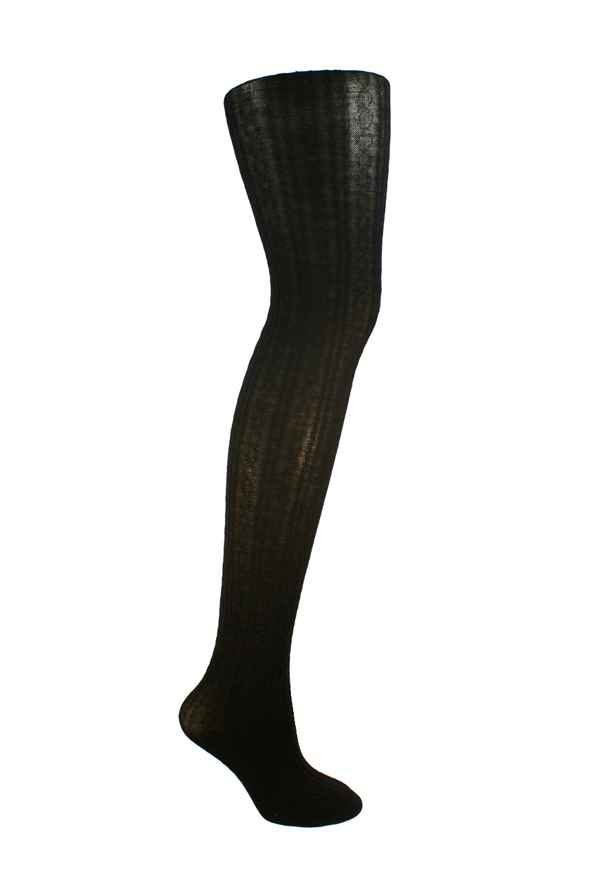 Classic Cable Merino Tights