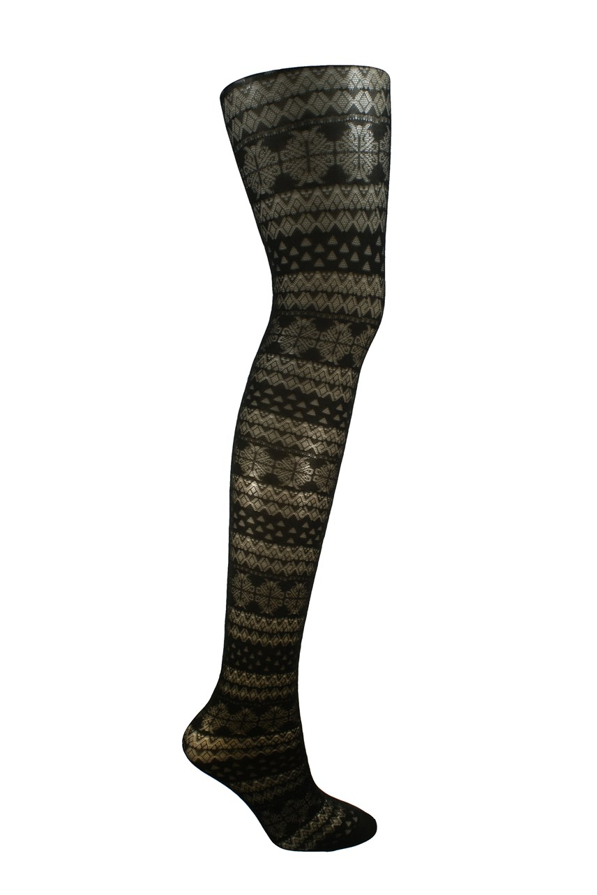 4a716ede2fe Nordic Patterned Tights Nordic Patterned Tights
