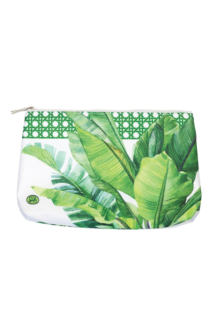Palm Breeze Cosmetic Bag