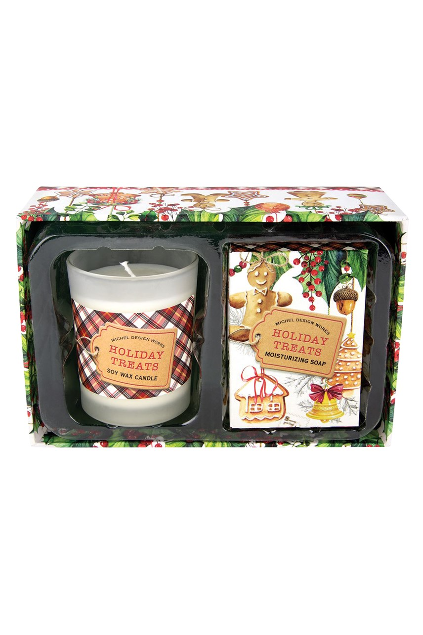 Holiday Treats Candle & Soap Gift Set