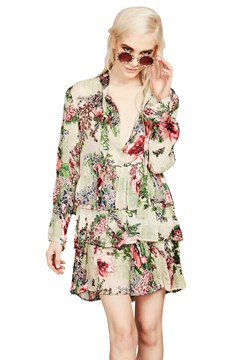 Sealed With A Bow Dress FLORAL 1