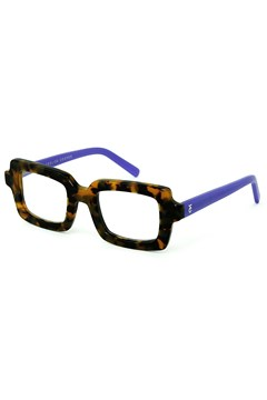 Square Dance Reading Glasses BROWN TORT PURPLE 1