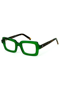 Square Dance Reading Glasses GREEN BROWN TORT 1