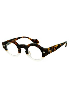 Drop Dead Reading Glasses TORT WHITE 1