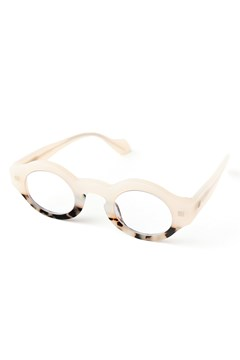 Drop Dead Reading Glasses WHITE TORT 1