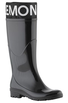 Clare Knee High Rain Boot BLACK 1
