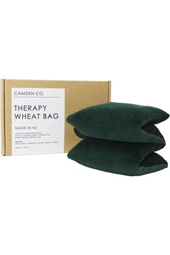 Velvet Wheat Bag - Green GREEN 1
