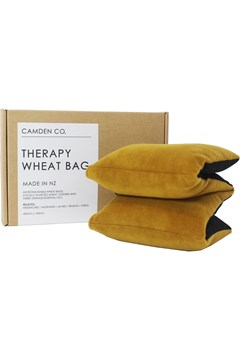 Velvet Wheat Bag - Mustard MUSTARD 1