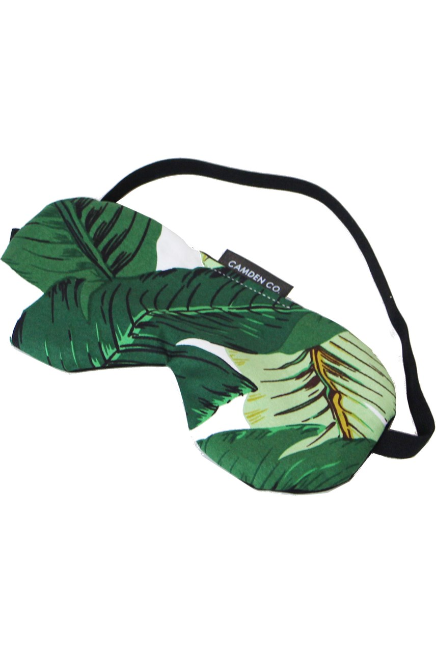 Banana Palm Eye Mask