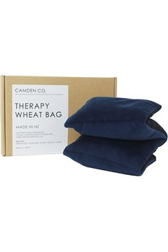 Velvet Wheat Bag - Navy NAVY 1
