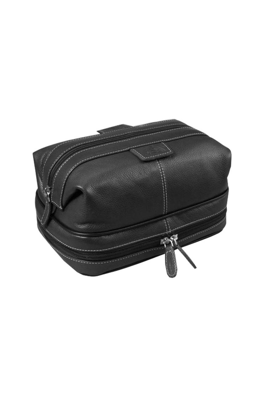 Country Saddle Bottom Zip Dopp Travel Kit
