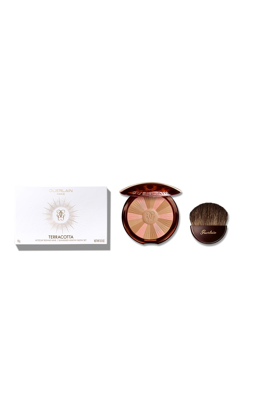Terracotta Bronzer And Brush Mother's Day Set