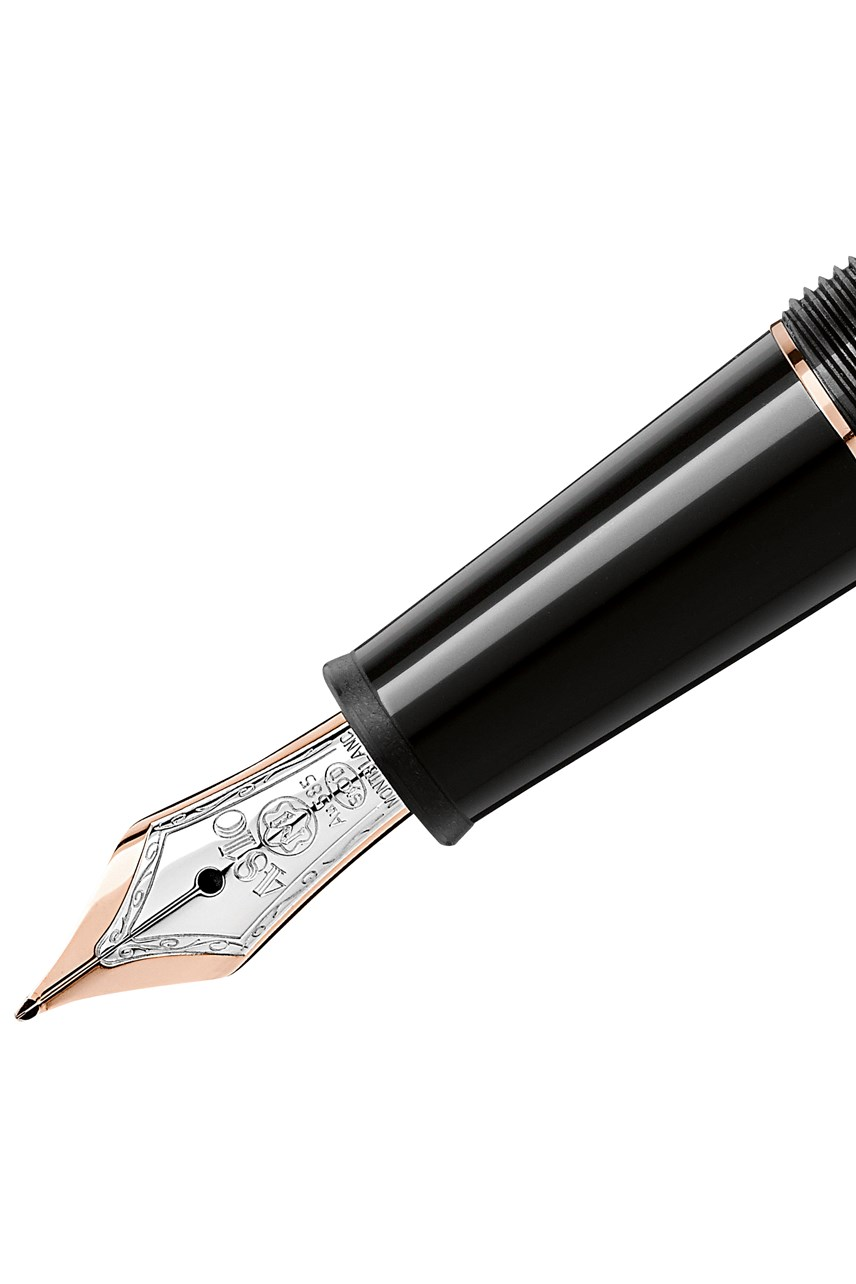 Meisterstück Rose Gold-Coated Classique Fountain Pen - Medium