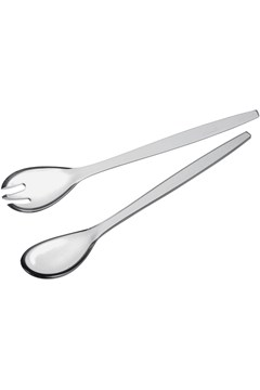 'Happy Hour' Salad Servers - clear