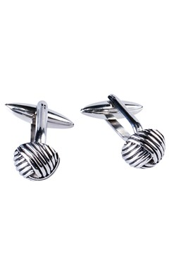 Stainless Steel Knot Cufflinks ROSE GOLD 1