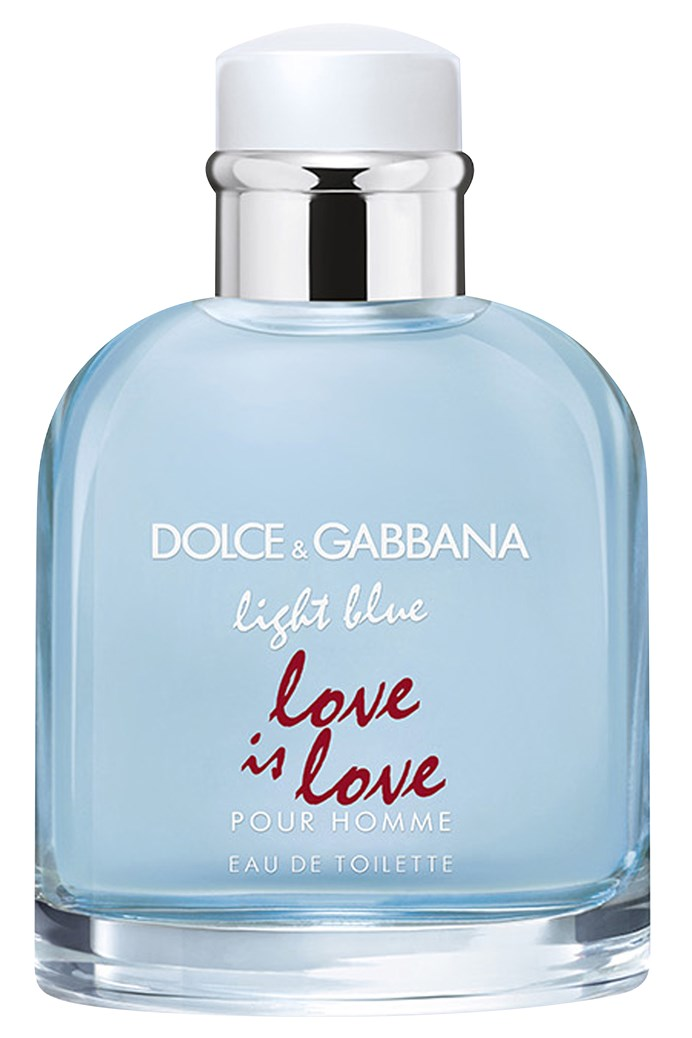 Light Blue Love Is Love Pour Homme Fragrance Spray