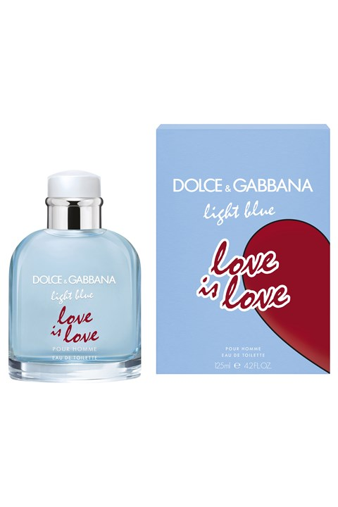 Light Blue Love Is Love Pour Homme Fragrance Spray -
