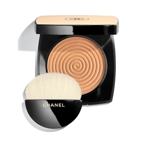 CHANEL | LES BEIGES HEALTHY GLOW ILLUMINATING POWDER  | EXCLUSIVE CREATION <br>HEALTHY GLOW HIGHLIGHTING POWDER<br> - sand