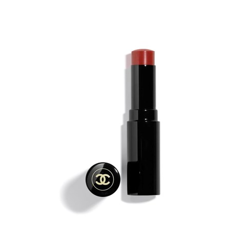 CHANEL | LES BEIGES LIP BALM | HYDRATING LIP CARE WITH A SUBTLE HEALTHY GLOW TINT.  - intense