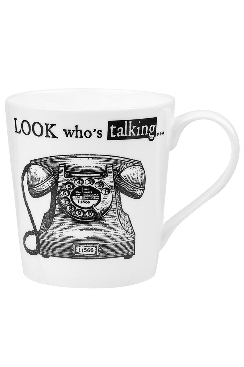 Queens About Time Telephone Mug 300ml