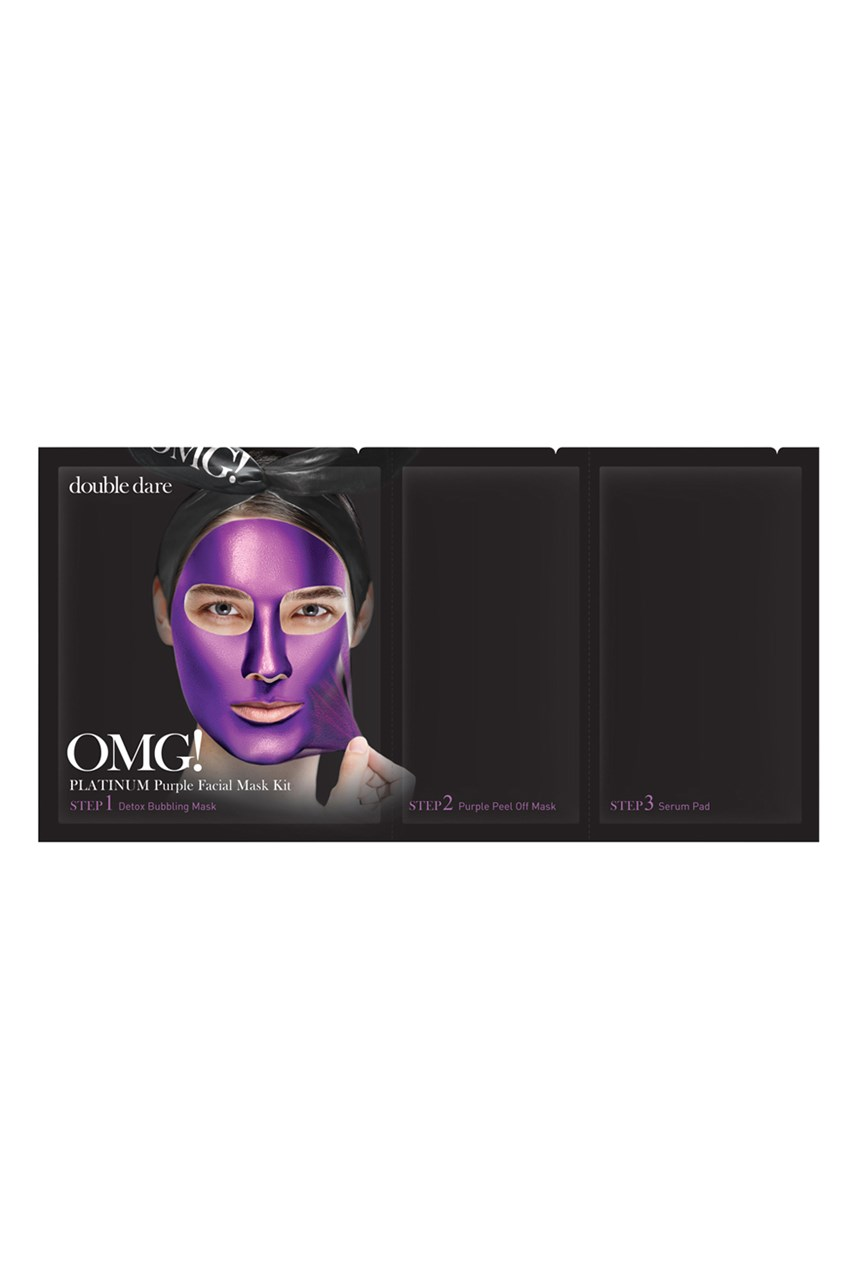 Platinum Purple 3 in 1 Facial Mask Kit