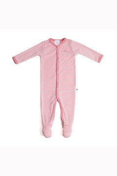 Tommy & Tilly Merino Babygrow - pink rose