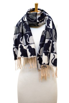 Love Cats Smoke Scarf 1