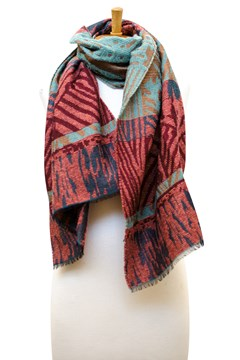 Stand By Me Scarf - Rust 1