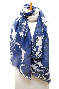 Blue Eyes Scarf 1