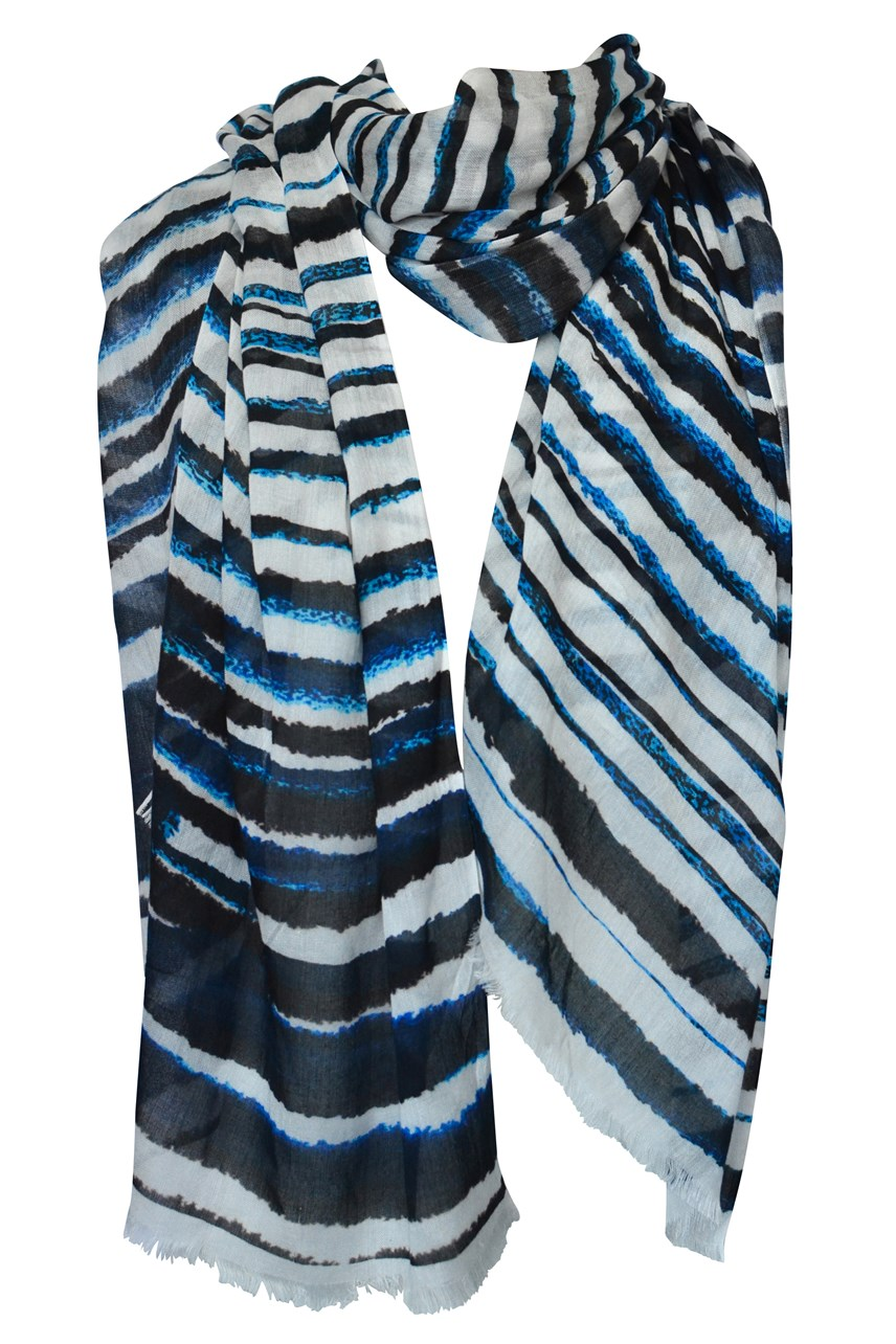 Thin Blue Lines Scarf