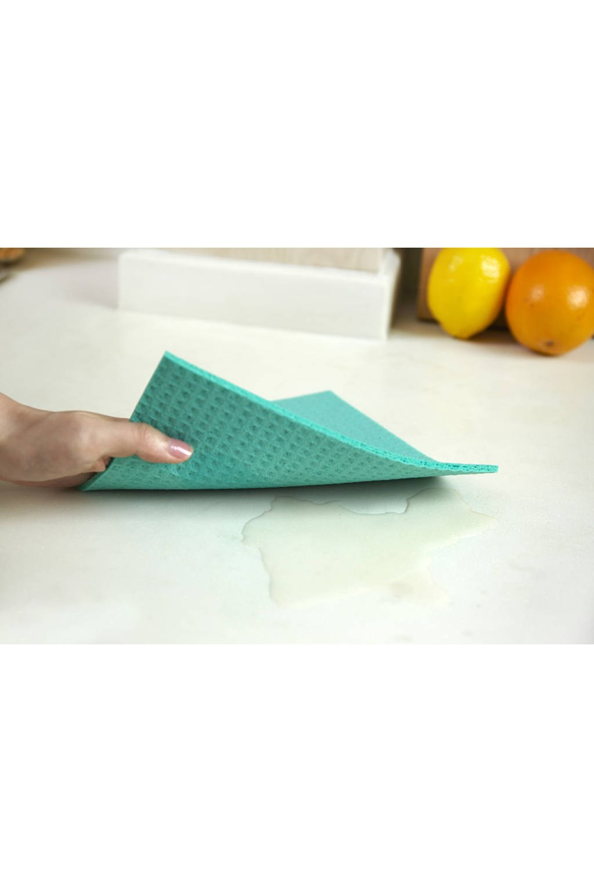 Squeeze Cellulose Sponge Cloth Set of 3