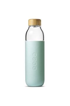 Glass Water Bottle MINT 1